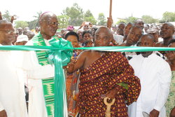 ARCHBISHOP NKETSIAH DEDICATES A MORGUE