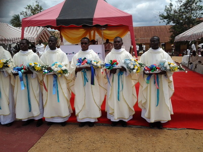 NINE ORDAINED AS PRIESTS FOR CAPE COAST
