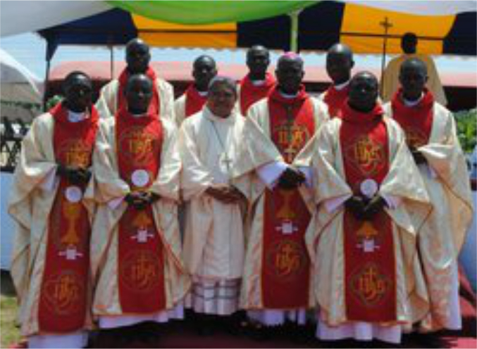 CAPE COAST GETS EIGHT PRIESTS