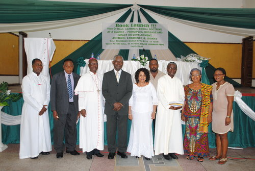 A BOOK ON CATHOLIC SOCIAL DOCTRINE LAUNCHED IN CAPE COAST