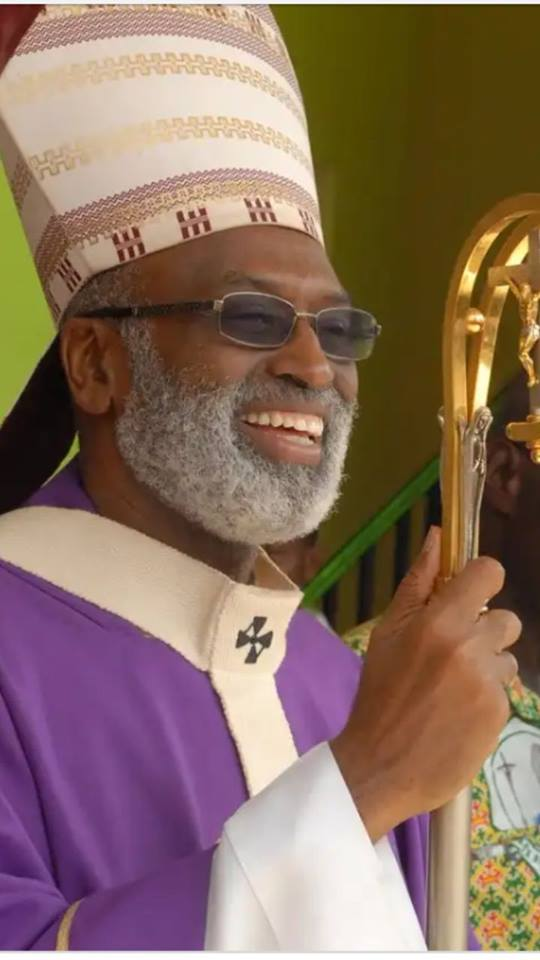 ARCHBISHOP CHARLES PALMER BUCKLE APPOINTED LATEST ARCHBISHOP OF CAPE COAST BY POPE FRANCIS