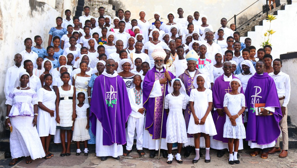 ARCHBISHOP PALMER BUCKLE ENDS PASTORAL VISIT AT ELMINA
